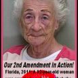 Woman, 92, Denied Kiss Fires Shots 92-Year-Old Faces Charges In Marion Co. WESH-TV Orlando, FL UPDATED 4:52 AM EDT Mar  22, 2011 OCALA,  Fla. —A 92-year-old woman was arrested on […]