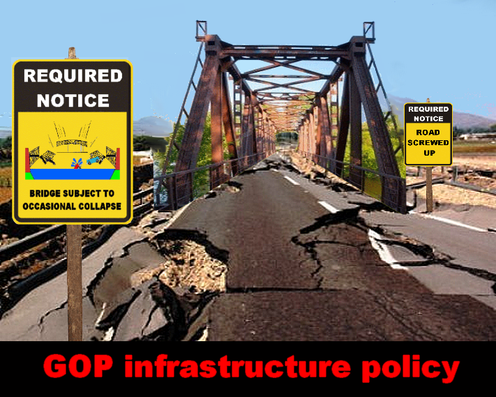 GOP Infrastructure policy