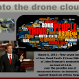 This is a word cloud of the first 7 hours of Rand Paul's filibuster of March 6, 2013