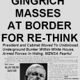 "EXTRA! EXTRA! Gingrich ""Re-Thinking"" Alarms Sentient Beings And Neoconservatives!"