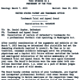 Michael Matthew Bloomer, June 19, 2014. The sports world and the other parts of the world learned today that the U.S. Patent and Trademark Office in Washington D.C. cancelled six […]