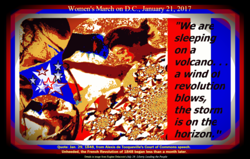 Women's March on Washington, January 21, 2017_Poster Commerative
